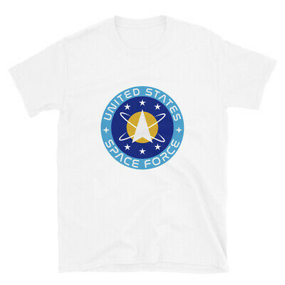 Donald Trump Space Force New Mens USSF United States Military USA T Shirt Tee