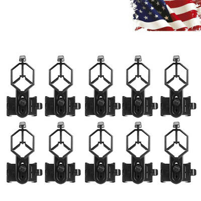 10x Universal Cell Phone Mount Adapter For Spotting Scope Monocular Telescope