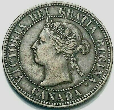 CANADA - Queen Victoria - Large Cent - 1899 - KM-7 - About Uncirculated Beauty!