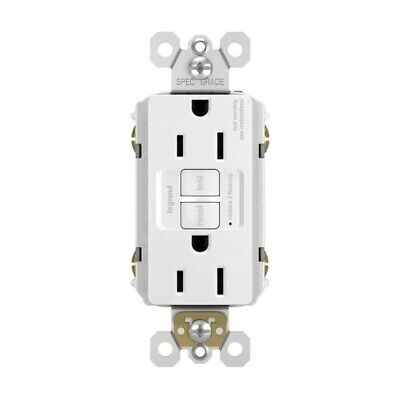 Pass & Seymour / Legrand Radiant 15 Amp GFCI Residential / Commercial Receptacle