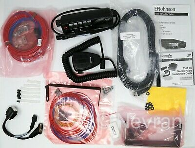 EF Johnson 5300 Installation Kit, Accessories, Cables, Brackets, Microphone,Head