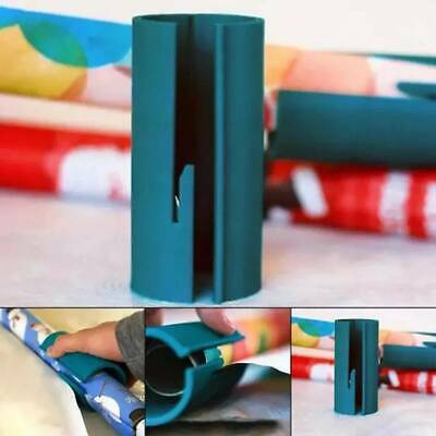 Sliding Wrapping Paper Cutter Roll Cutting Arts Package Paper Business Tool BS