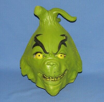 The Grinch That Stole Christmas Rubber Mask Dr. Seuss Enterprises