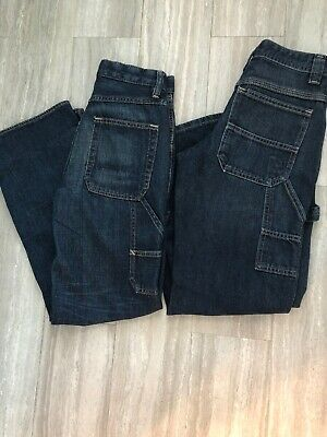 Boys Jeans Size 12 Lot Gap And Lee Carpenter Excellent!