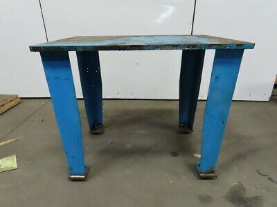 "1"" Thick Top Steel Fabrication Layout Welding Table Work Bench 44"" x 30""x37-1/2"""