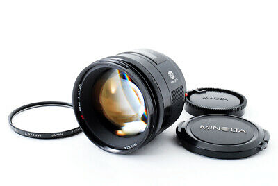 [Near Mint] MINOLTA AF 85mm F1.4(22) For Sony Interchangeable Lens From Japan