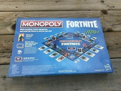 Monopoly Fortnite Edition Board Game based on Video Game Ages 13 Limited Edition