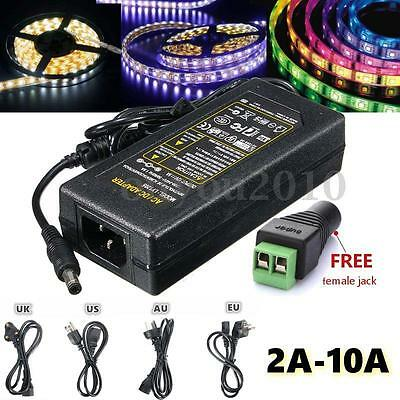 AC 100-240V To DC 12V 2A-10A Power Supply Adapter Driver Transformer LED  3