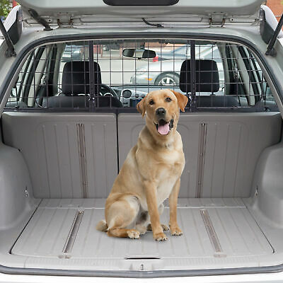 Heavy Duty Pet Dog Car Barrier Adjustable Ventilated Mesh Wire Guard Protector