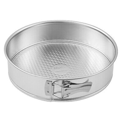 Zenker Tin Plated Steel Standard Springform Pan, 11-Inch Diameter