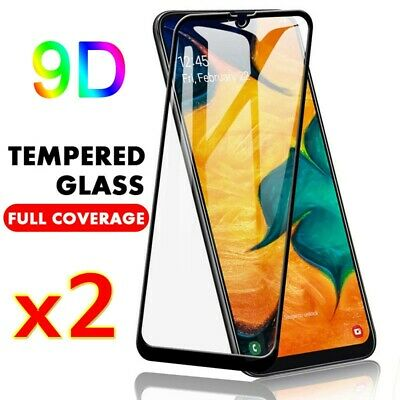 2Pcs Tempered Glass Screen Protector For Samsung Galaxy A10 A20E A30 A40 A50 A70