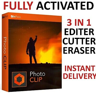 Inpixio Photo Clip 9 Pro Latest Full Version Photo Editor ✔ Not Version 8 ✔ Fast