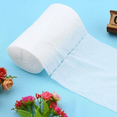 Baby Flushable Biodegradable Cloth Nappy Diaper Bamboo Liners 100 Sheet/Roll nn