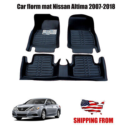 Weatherbeater Front /& Rear Floor Mats Fit For  2013-2018 Nissan Altima
