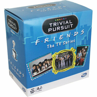 Friends Edition Trivial Pursuit Tv Series Toys Games Winning Moves Quiz Game NEW