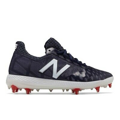 New Balance COMPv1 Baseball Cleat - Navy/White - COMPTN1 - 12.5