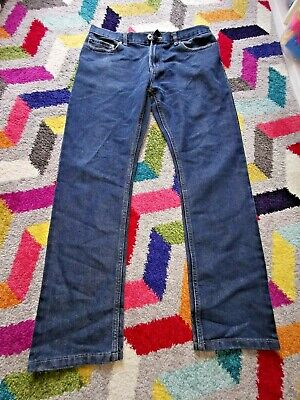 DENIM CO DARK BLUE SKINNY FIT JEANS - Waist 32""
