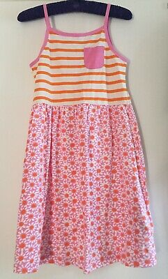 Mini Boden Summer Jersey Cotton Dress. 11-12 Years. New No Tag.