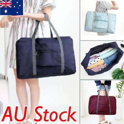 AU Foldable Large Bag duffel Luggage Storage Waterproof Travel Pouch Tote Bag