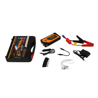 12V 13600mah Car Charger Jump Starter Emergency Mobile Power Bank Tool Kit