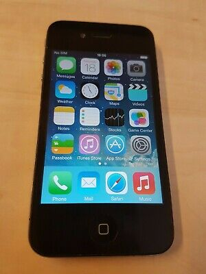 Apple iPhone 4S - 8GB - Black (Unlocked)