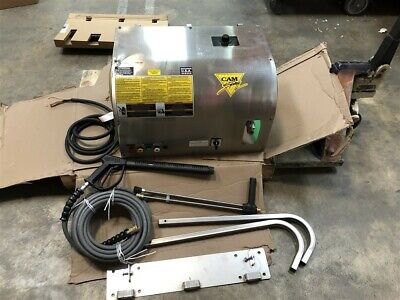 New Cam Spray Professional Pressure Washer 3000 PSI Wall Mount 460V 3Ph