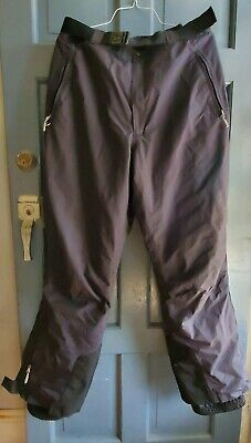 Eastern Mountain Sports EMS Insulated & Lined Snowboard, Ski Snow Pants Black XL