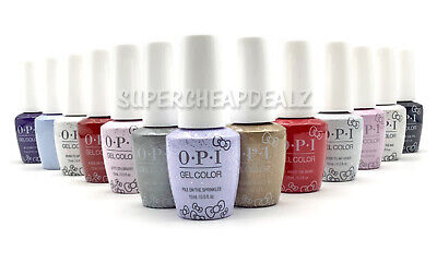 OPI GelColor Soak-Off Gel Lacquer - 0.5 oz - HELLO KITTY Collection - AUTHENTIC