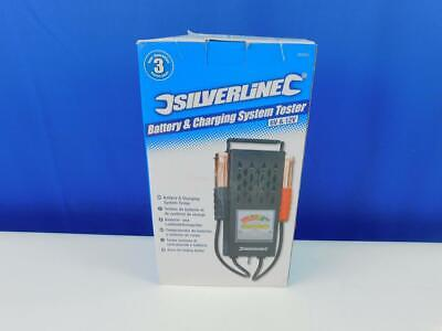 Silverline 282625 Battery and Charging System Tester 6 V and 12 V