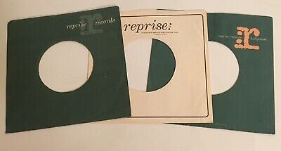 3 Original 1960s Reprise 45rpm Sleeves / For Kinks 45s / Great condition!