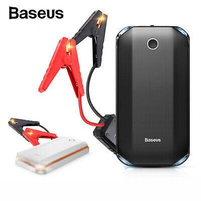 Baseus Portable Car Jump Starter 800A Vehicle Charger Power Bank Battery Engine