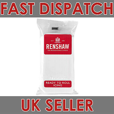 Pack of 500g Renshaw Ready To Roll Icing White, Regalice, Sugar Paste