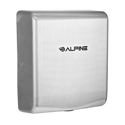 Alpine Industries Willow Commercial Stainless Steel 220 V Automatic Hand Dryer