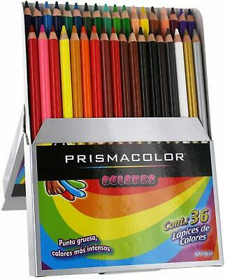 Prismacolor Colored Pencils 36 Set Intense Colors NEW