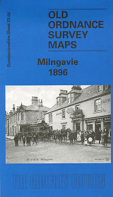 OLD ORDNANCE SURVEY MAP GODALMING 1895 MEATH HOME CROWNPITS HOLLOWAY HILL
