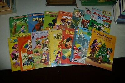 Lot of 14 Walt Disney coloring books Vintage/modern/used/Mickey Mouse/movies +