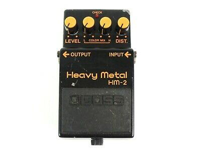 BOSS HM-2 Heavy Metal Effector Distortion Free Shipping Used