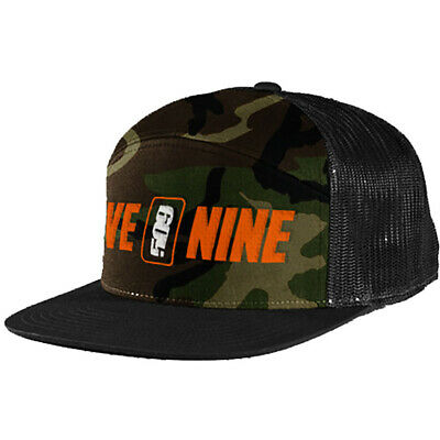 509 Ranger Snapback Hat - Orange Camo