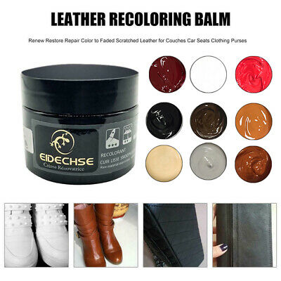 Leather Repair Cream Filler Compound - For Leather Restoration&Cracks&Burns&Hole
