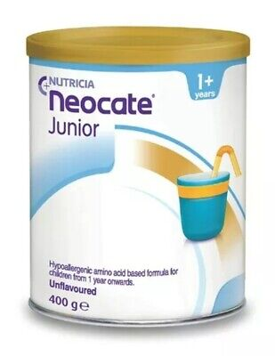 Neocate Hypoallergenic Junior Formula - 400g can unflavoured