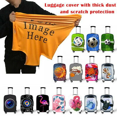 Elastic Thick Luggage Suitcase Dustproof Protector S-XL Cover Protective Bag