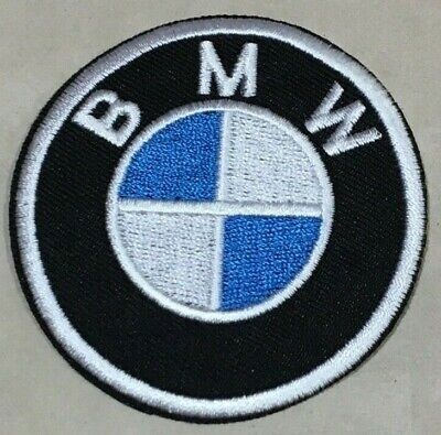 Parche Termoadhesivo | BMW | Bordado | 66x66 mm | Patch