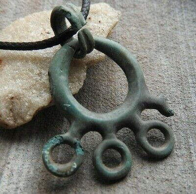 Beautiful Viking artifact in green patina Kievan Rus 10-11 AD