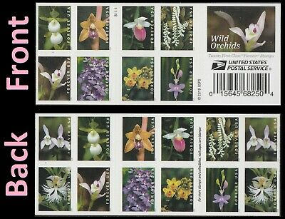 US Wild Orchids forever booklet (20 stamps) MNH 2020
