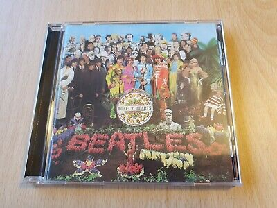 The Beatles: Sgt Peppers Lonely Heart Club Band CD Parlophone/Apple Records
