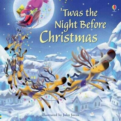 Twas the Night Before Christmas, Paperback by Joven, John (ILT), Like New Use...
