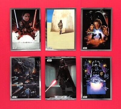 2019 Topps Star Wars Chrome Legacy Base Card #1-200 Pick Your Card
