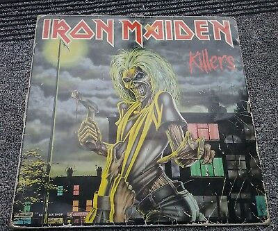 Vinyle 33 Tours Iron Maiden Killers 2C07007450 Emi 1981 France Lp Insert