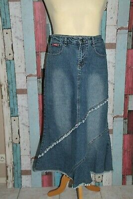 JUPE LONGUE JEANS °°° Jishun Fashion °°° Hippie Boheme