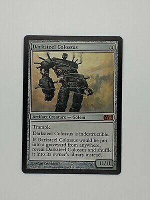Darksteel Colossus - Core Set M10 - Magic the Gathering - MTG - Played Condition